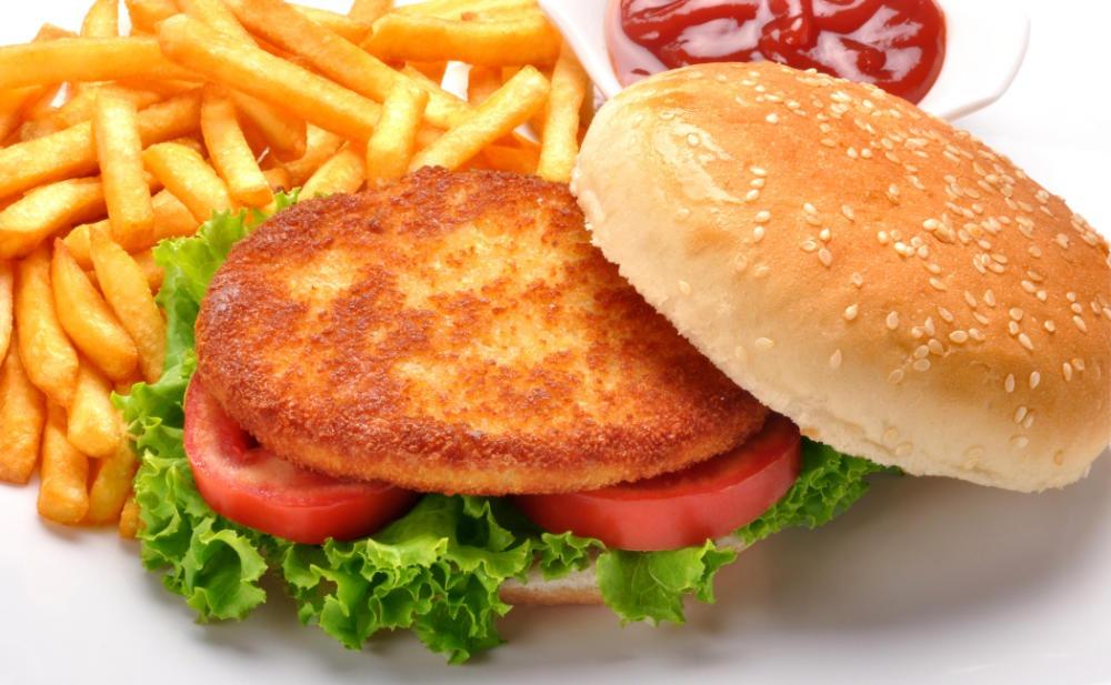 Fast Food Menü von KFC