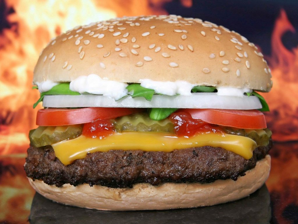 Fast Food: Mc Donalds Burger