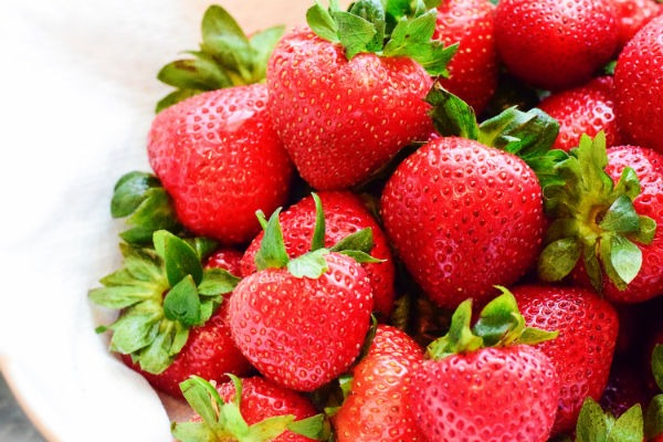 Platz 2: Erdbeeren
