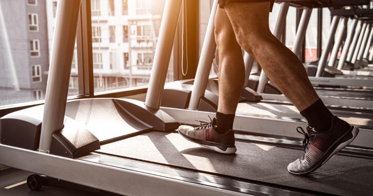 Platz 3 der besten Cardiogeräte für den Fettabbau: Das Laufband
