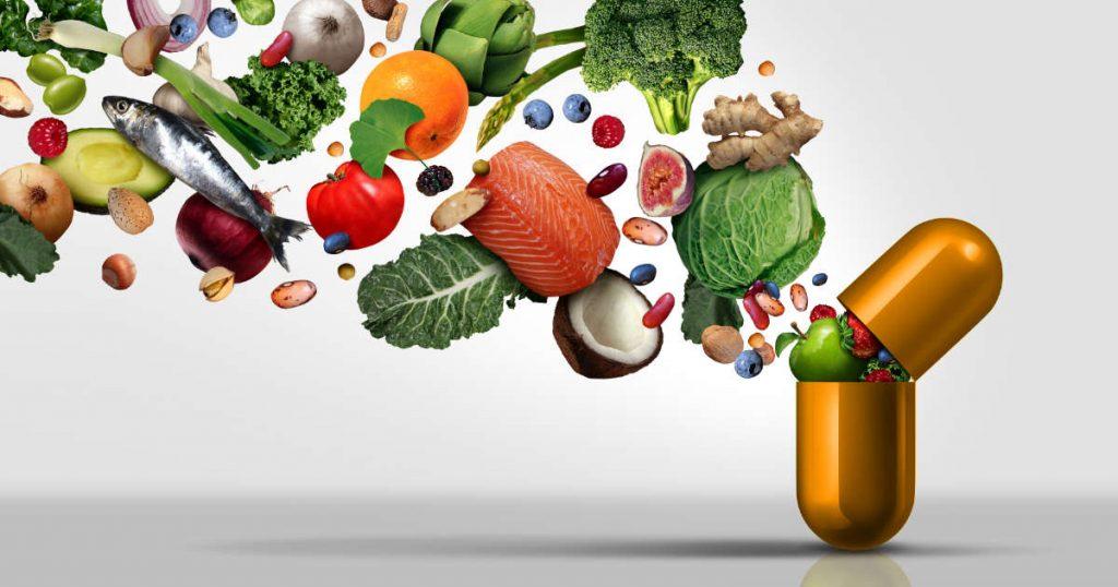 Supplements ermöglichen eine konstante Zufuhr aller Nährstoffe
