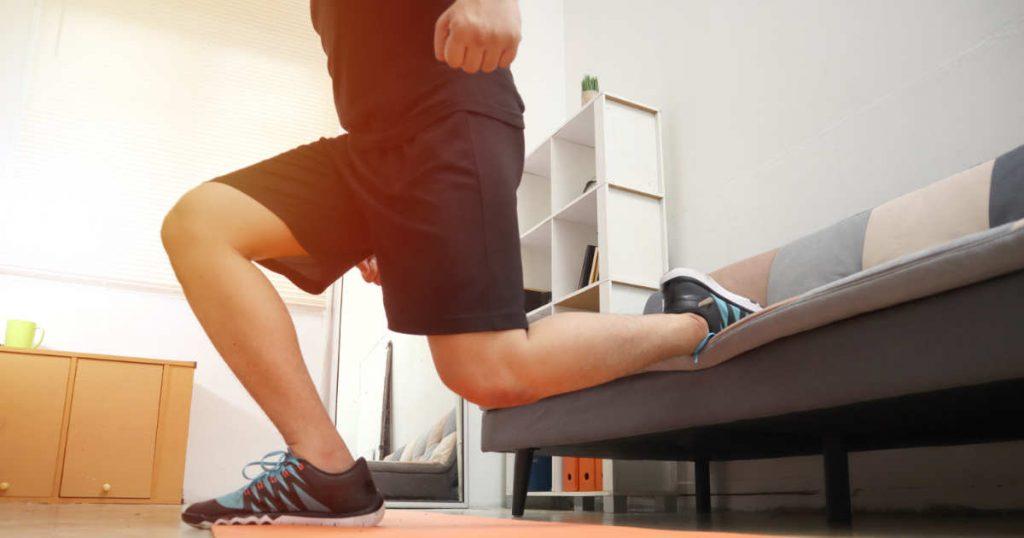 Muskelabbau verhindern während des Lockdowns: Körpergewichts-Training