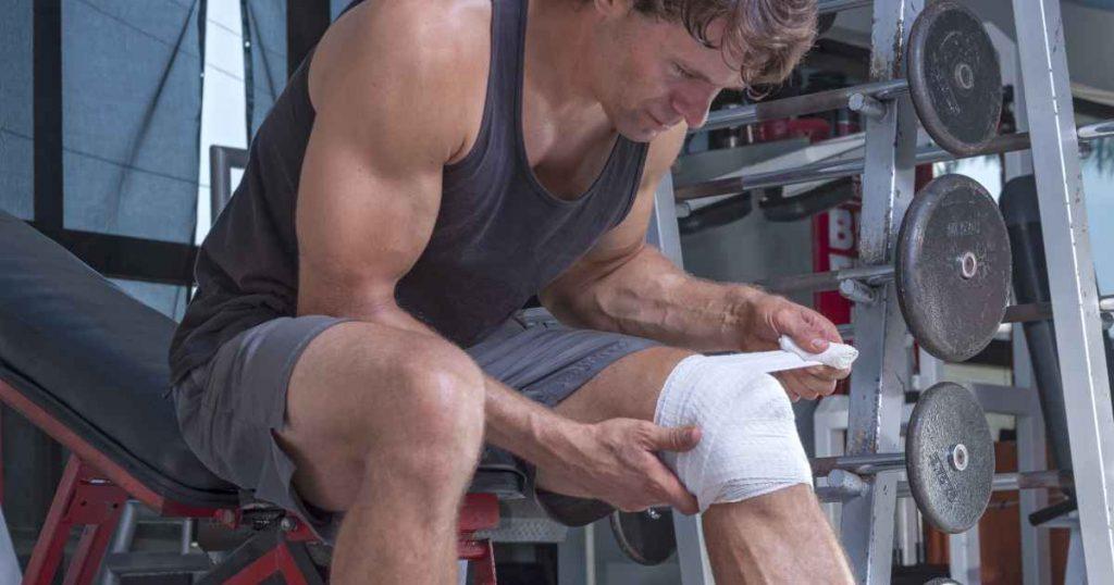 Bei Trainingspause wegen Verletzung: Pause oder andere Körperteile trainieren